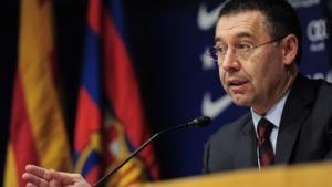 """Josep Maria Bartomeu: """"Nikt nie przychodzi tutaj po pieniądze. Przychodzą tutaj, ponieważ wiedzą, że piłka nożna sprawi im dużo zabawy"""""""
