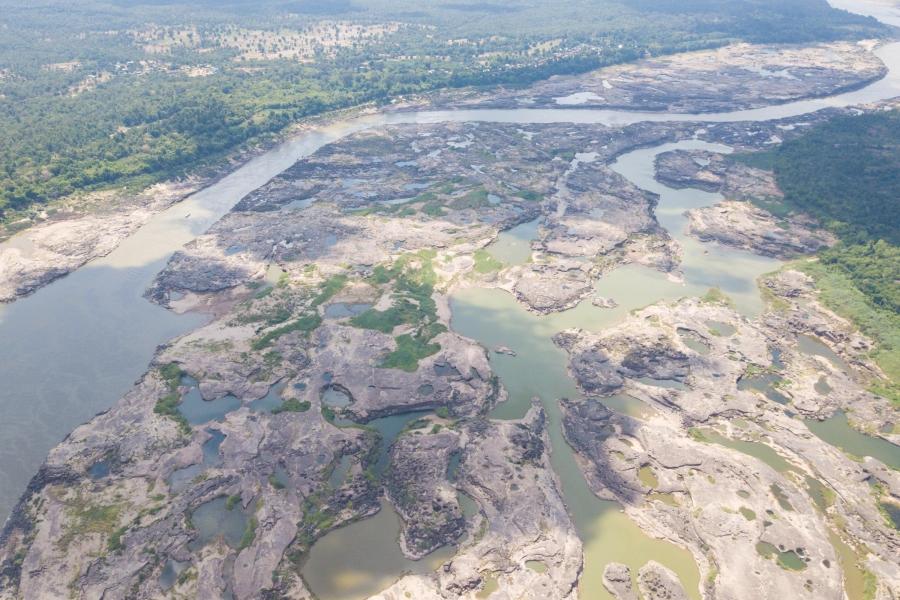 susza rzeka mekong